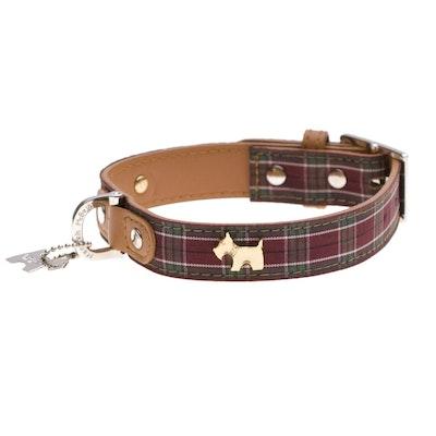 Hamish McBeth Highland Purple Tartan Dog Collar