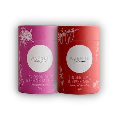 Warndu Pty Ltd Super Fruits ~ Twin Tea Pack