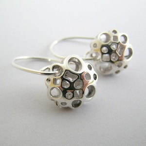 Small Flower Drop Earrings