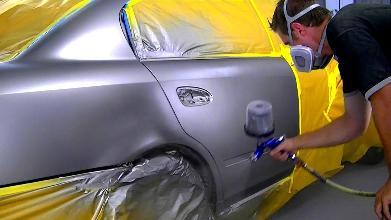 How To Blend Automotive Paint