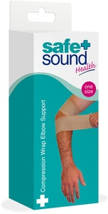Safe + Sound Compression Wrap Elbow Support