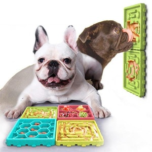 DoggyTopia 4 in 1 Licky Slow Feeder Set