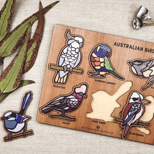 Australian Birds Puzzle
