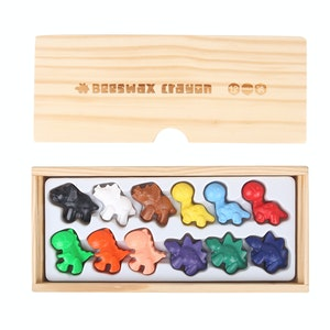 JarMelo BEESWAX CRAYON -CUTE DINOSAURS -12 COLORS