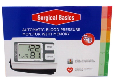 Surgical Basics Automatic Blood Pressure Monitor With Memory