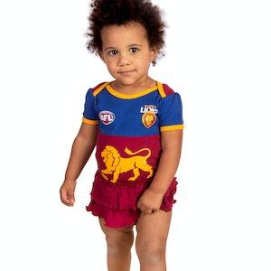 Ashtabula AFL Brisbane Lions Girls Footysuit