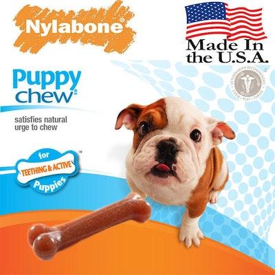 Nylabone® Puppy Chew Toy Bone