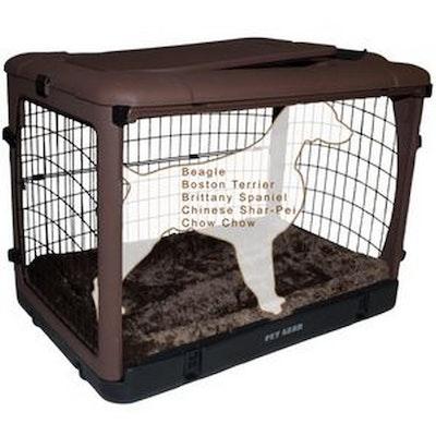 Pet Gear Brown Crate medium