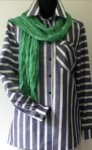 Adèle   Classic Linen-Cotton Shirt