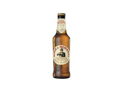 Birra Moretti Lager Bottle 330mL