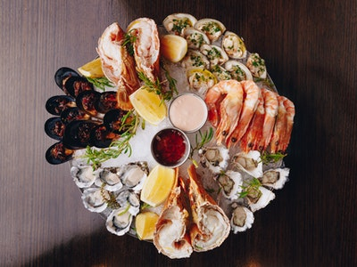 Atlantic Cold Seafood Platter (for 2)