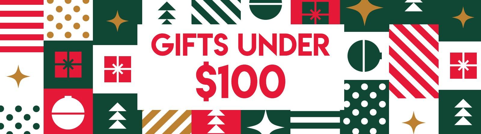 Gifts Under $100 Banner