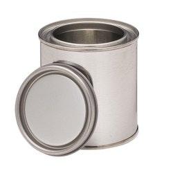 1Lt Metal Open Top Can & Lid