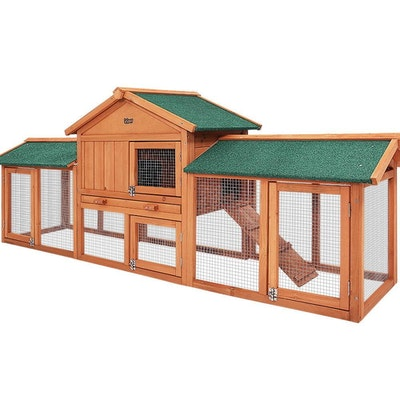 Megga Sized Wooden Chicken Coop