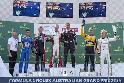 2019 Porsche Carrera Cup Australia: Round 2, Formula 1 Rolex Australian Grand Prix