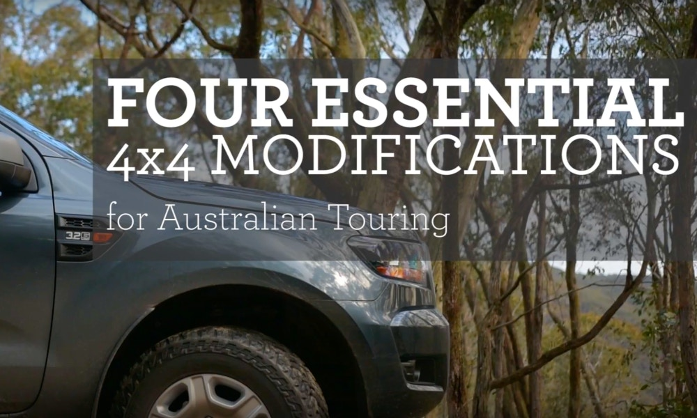 Four Essential 4x4 Mods for Aussie Touring Adventures