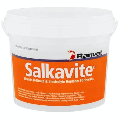 Ranvet Salkavite Horses Vitamin B Group & Electrolyte Replacer - 3 Sizes