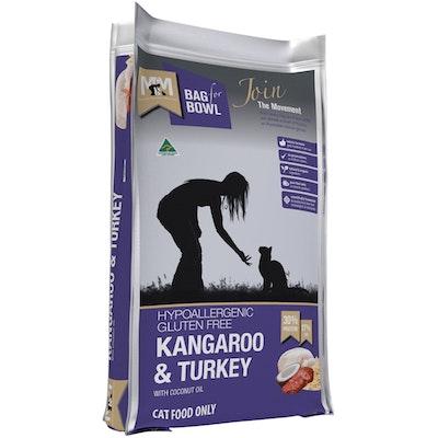 MEALS FOR MEOWS MFM Hypoallergenic Gluten Free Kangaroo & Turkey Cat Food - 3 Sizes