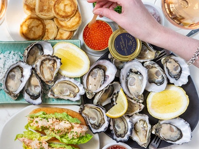 Botanical Hotel Oyster Frenzy for 2 - Double Your Oysters! ($166.50pp) - Only Available Oct 14-16 & Oct 21-23