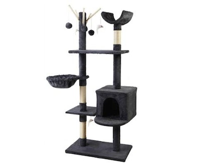 House of Pets Delight Cat Tree Scratching Post Condo House