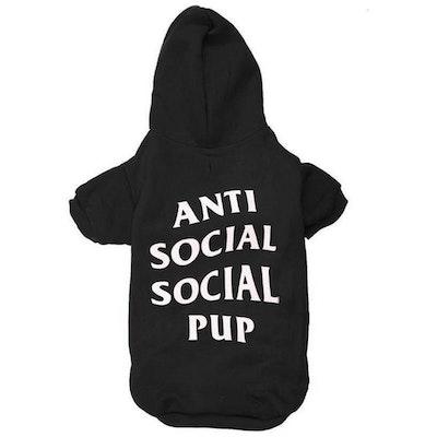 Fresh Pawz USA Fresh Pawz - Anti Social Social Pup Hoodie | Dog Clothing