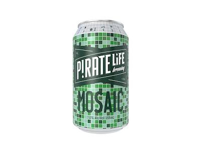 Pirate Life Brewing Mosaic IPA Can 355mL