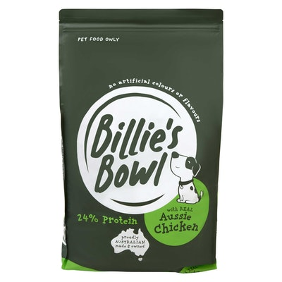 Billie's Bowl Adult with REAL Aussie Chicken Dry Dog Food 10kg