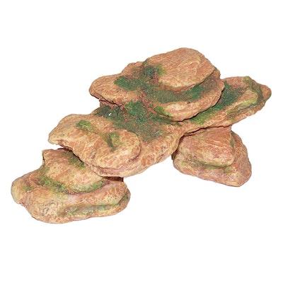 URS Ornament Mossy Rock Arch Reptile Accessory Small