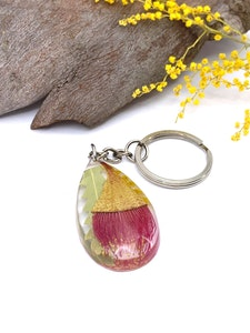 Australian Native Flower Key Ring