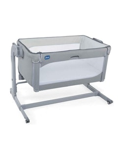 Chicco Crib: Next2Me Magic - Cool Grey