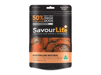 SavourLife Sweet Potato Chews With Coconut Oil 150g