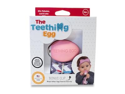 The Teething Eggs Pink