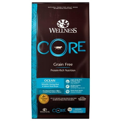 WELLNESS CORE Grain Free Ocean Formula Dry Dog Food 10kg