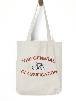 The General Classification Median Bicycle Recycled Tote Natural
