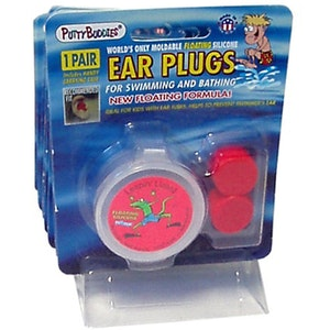 Putty Buddies Premium Floating Silicone Ear Plugs 1 Pair With Case Swimming