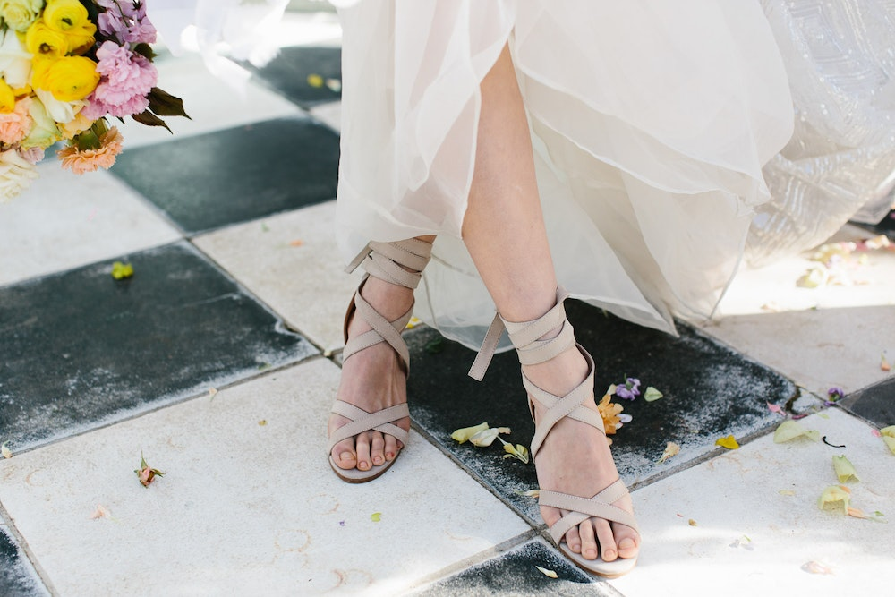 Wedding Shoes from Bared Footwear