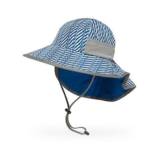 Sunday Afternoons Kids Play Hat (electric blue stripe)