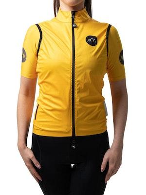 Band of Climbers Women's Izoard Wind Gilet - Yellow