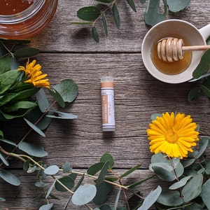 Manuka Honey · Calendula Lip Balm Tube [LB4]