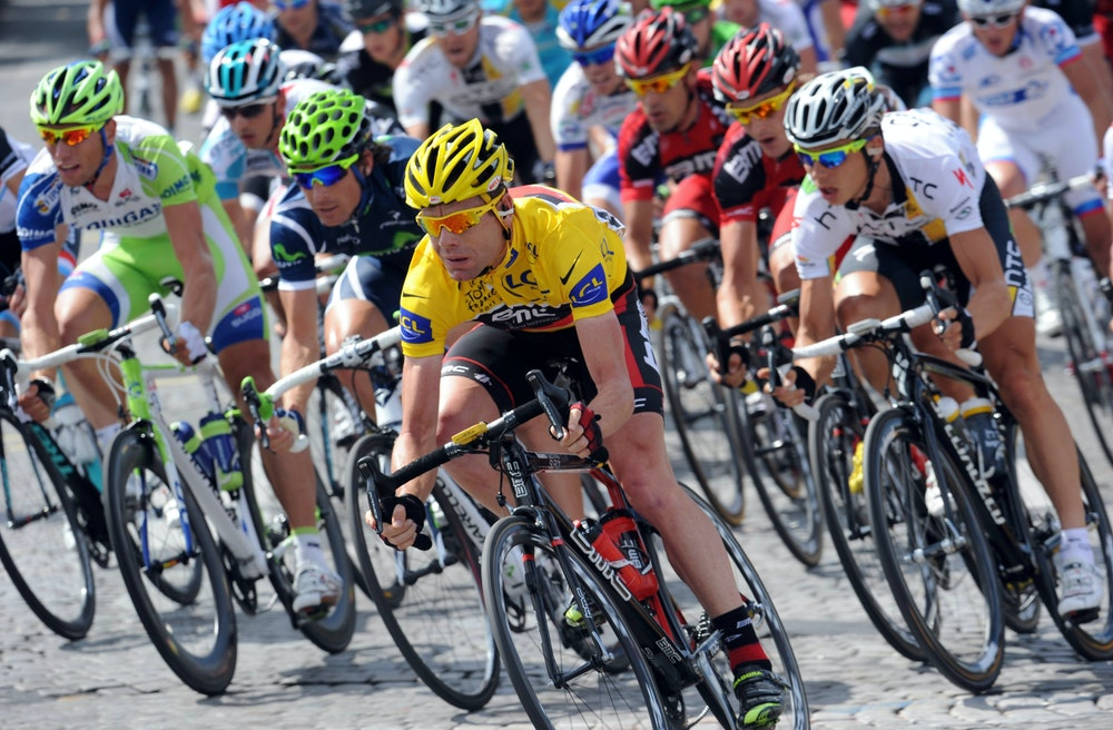 cadel wearing yellow