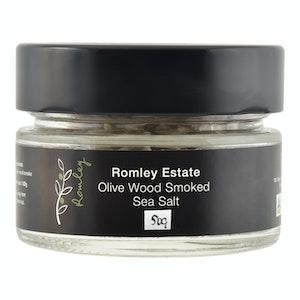 Olive Wood Smoked Sea Salt Flakes