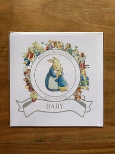 Peter Rabbit Card - 1
