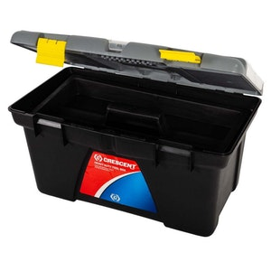 "Tool Box 24""/600mm Heavy Duty W/ Removable Tray & Storage Boxes TB224"