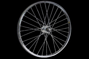 CycleOps Power Tap Pro and rear wheel