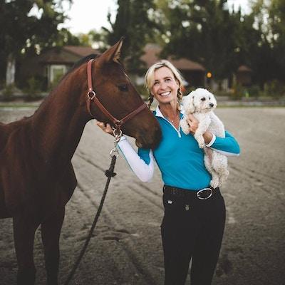 Trail Ride with Kastel Denmark's Charlotte Jorst