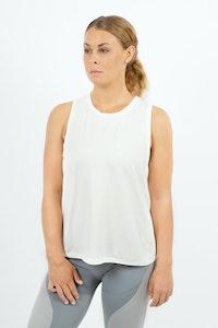 1 People Okayama Modal Sleeveless Workout Top in Opal White
