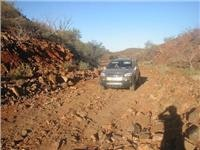 Paralana Springs track SA is 4WD only