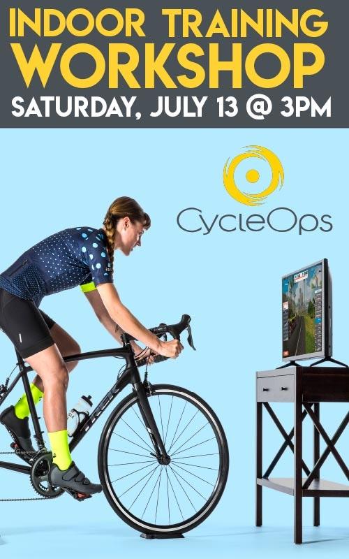 abc08cdcd5c CycleOps Workshop July 13 @ 3pm