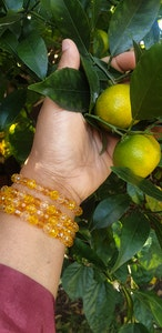 Rayhana's Store Sydney beaded bracelets x2 yellow
