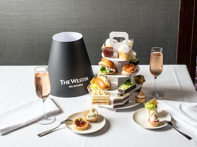High Tea Party Package for 10 including 3 bottles of Chandon ($87.00pp)